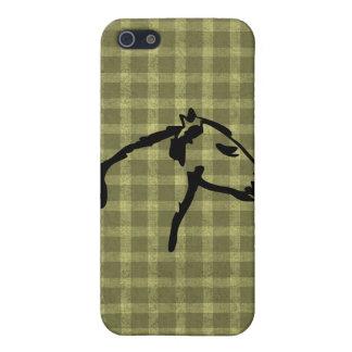 国の賢明な馬のプロフィールのSpeckの場合のiPhone 4 iPhone 5 ケース