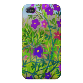 国の野生の花のSpeckの中西部の場合 iPhone 4/4Sケース