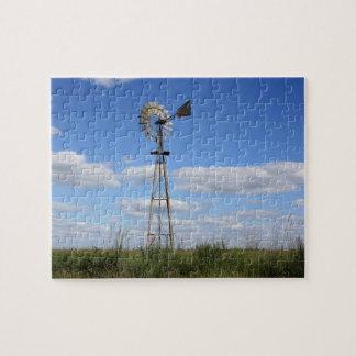 国の風車のパズル ジグソーパズル