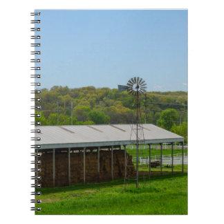 国の風車 ノートブック