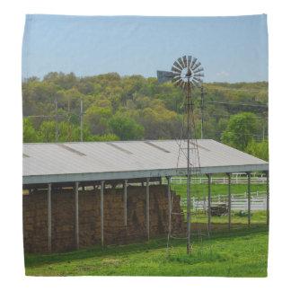 国の風車 バンダナ