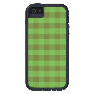 国スタイルの緑の点検、iPhone 5/5s Xtremeの場合 iPhone SE/5/5s ケース