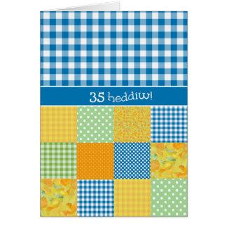 国スタイル年齢のバースデー・カードのウェールズの挨拶 カード