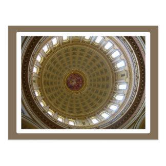 国会議事堂のドーム-マディソン ポストカード
