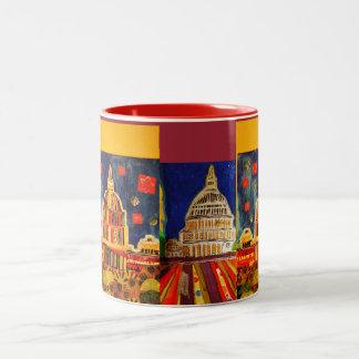 国会議事堂のマグ ツートーンマグカップ