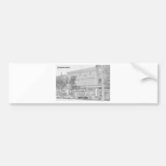 国会議事堂の劇場-メーコン、ジョージア バンパーステッカー