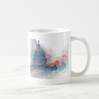 国会議事堂の危機 コーヒーマグカップ