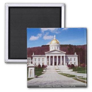 国会議事堂の建物、モントピーリア、ヴァーモント、米国 マグネット