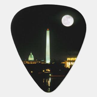 国会議事堂の建物、リンカーン記念館、ワシントン州 ギターピック