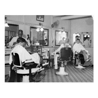 国会議事堂の理髪店1938年 ポストカード