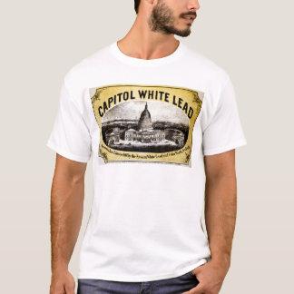 国会議事堂の白い鉛1866年 Tシャツ