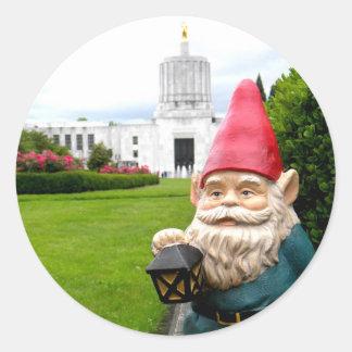 国会議事堂の芝生の格言 ラウンドシール