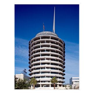 国会議事堂はタワーのLAを記録します ポストカード