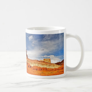 国会議事堂礁の国立公園の白い城 コーヒーマグカップ