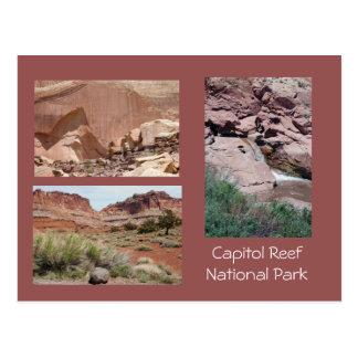 国会議事堂礁の景色の写真テンプレートの郵便はがき ポストカード