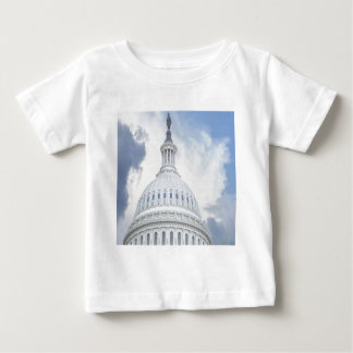 国会議事堂米国 ベビーTシャツ