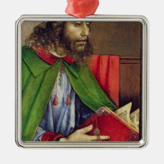 国会議員c.1475のポートレート メタルオーナメント