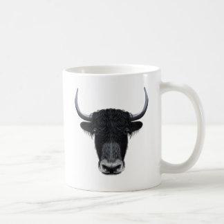 国内ヤクの図解入りの、写真付きのなポートレート コーヒーマグカップ