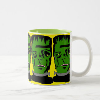 国内基本的なフランケンシュタインのコーヒー・マグ ツートーンマグカップ
