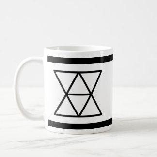 国内外交官のロゴ11ozのマグ コーヒーマグカップ