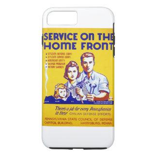 国内戦線WPAポスターのヴィンテージサービス iPhone 8 PLUS/7 PLUSケース