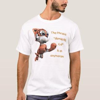 国内猫は撞着語法です Tシャツ