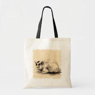 国内猫日本のなインクスケッチのバッグ トートバッグ