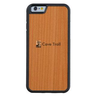 国内職人の使用によってそれぞれハンドメイド CarvedチェリーiPhone 6バンパーケース