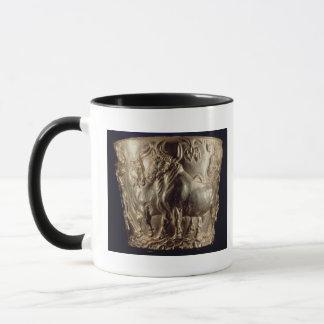 国内雄牛を描写するコップ マグカップ
