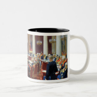 国務院の正式のモデル ツートーンマグカップ