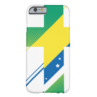 国及び信条-ブラジル BARELY THERE iPhone 6 ケース