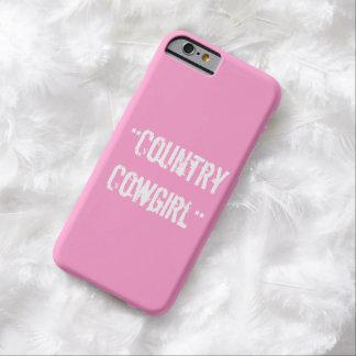 """""""国女性のカーボーイ""""のiPhone6ケース Barely There iPhone 6 ケース"""