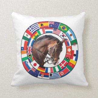 国家の騎手の枕 クッション