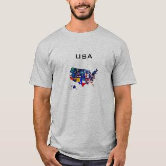 国家はワイシャツに印を付けます Tシャツ