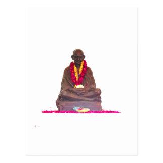 国家インドのMahatma Gandhiの父 ポストカード