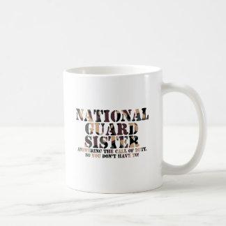 国家警備隊の姉妹の返事呼出し コーヒーマグカップ