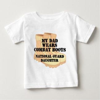 国家警備隊の娘のパパDCB ベビーTシャツ