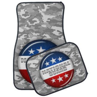 国家警備隊の紋章の迷彩柄のカムフラージュ#2 カーマット