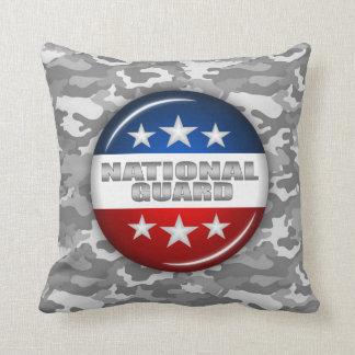 国家警備隊の紋章の迷彩柄のカムフラージュ#2 クッション