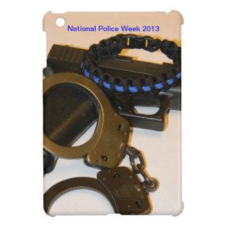 国家警察週の薄いブルーライン堅いipadの場合 iPad miniケース