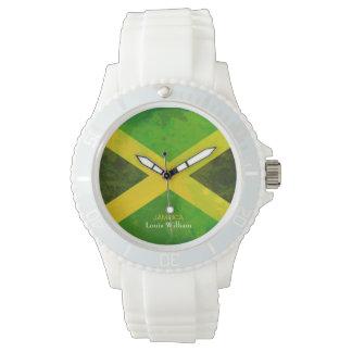 国旗のジャマイカのラスタの名前 腕時計