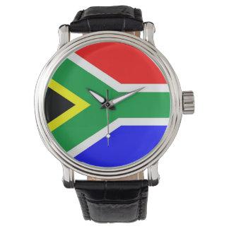 国旗南アフリカ共和国 腕時計