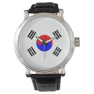 国旗南朝鮮 腕時計