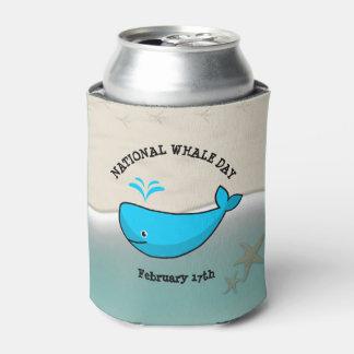 国民のクジラ日の2月17日のソーダクーラーボックス 缶クーラー