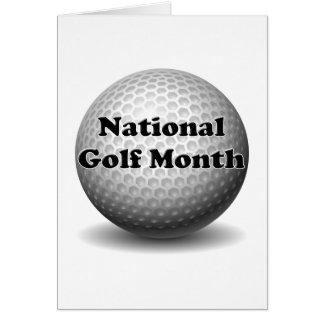 国民のゴルフ月 カード