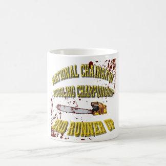 国民のチェーンソーのごまかす選手権 コーヒーマグカップ