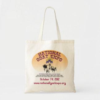 国民のヤギの博覧会のバッグ トートバッグ