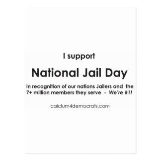 国民の刑務所日 ポストカード