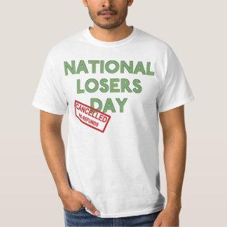 国民の敗者の日 Tシャツ
