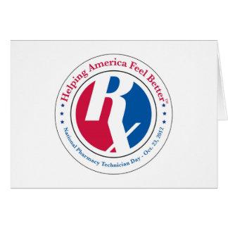 国民の薬学の技術者日2012のメッセージカード カード